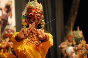 (Image Antara) Info budaya cirikhas pertunjukan Wayang Topeng Jatiduwur