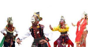 Ilustrasi : Info budaya Topeng sandur madura