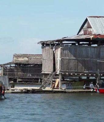 (Image Capture Youtube) info budaya danau tempe rumah terapung