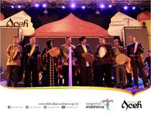 Info Budaya Kegiatan seni dan sastra Aceh International Rapa'i Festival (Image disbudpar acehprov go id)