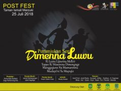 Info Budaya Post Festival 2018