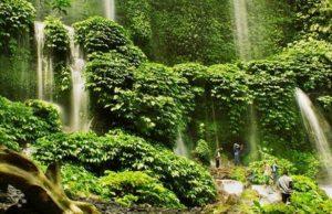 Info budaya Air terjun Air terjun Benang Kelambu (Image : asset kompas com)