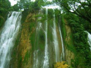 Info budaya Air terjun Grojogan Sewu (image : tempatwisatamu com)