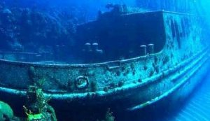 infobudaya wisata budaya bali Kapal Karam USS Liberty (Image : hello-pet com)