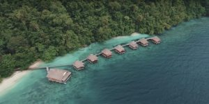 Wisata Alam, Pemandangan Ora Resort di Saleman, Ambon (Image : Capture Youtube)
